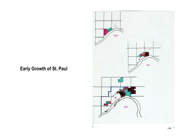 Early Growth of St. Paul