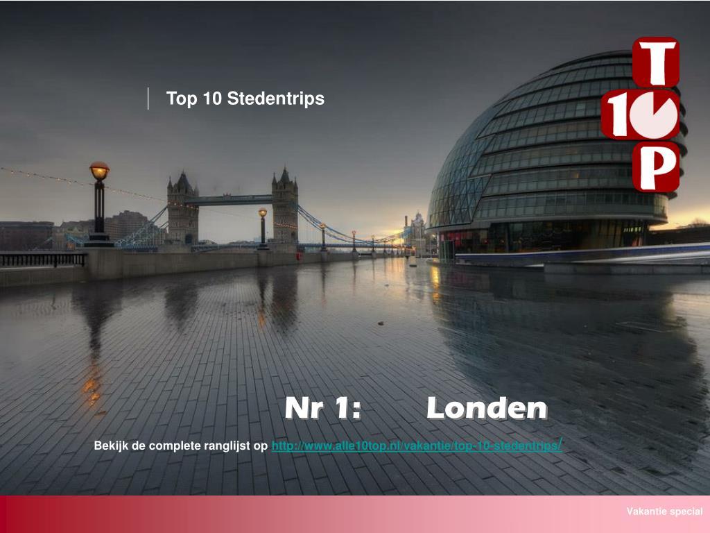 Top 10 Stedentrips