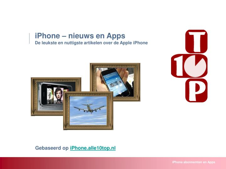 IPhone – nieuws en Apps