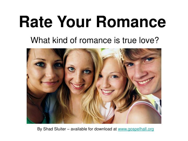 Rate your romance l.jpg