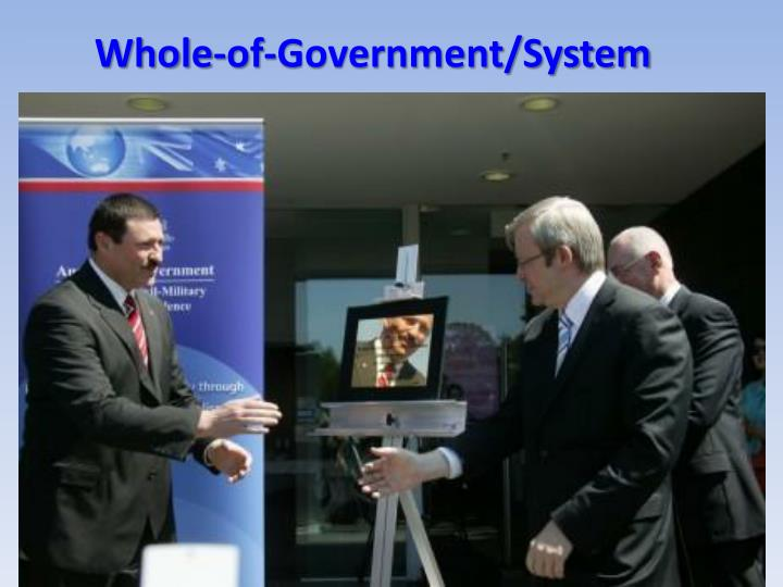 Whole-of-Government/System