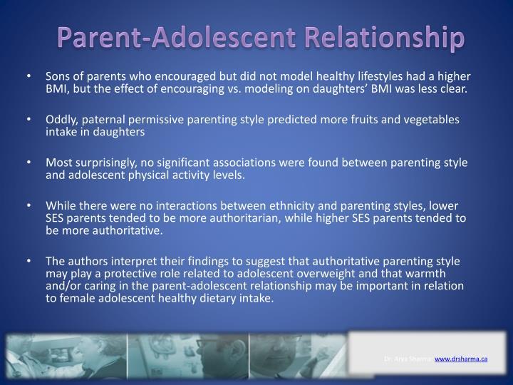 Parent-Adolescent Relationship