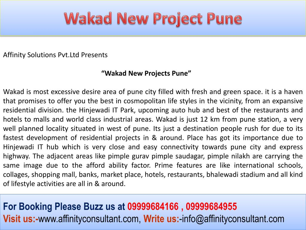 Wakad New Project Pune