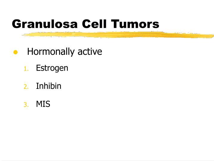 Granulosa Cell Tumors
