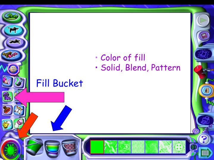 Fill Bucket