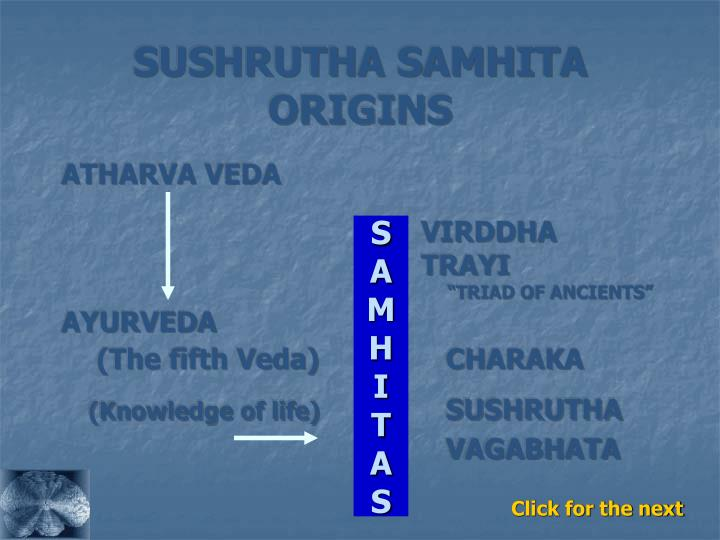 SUSHRUTHA SAMHITA