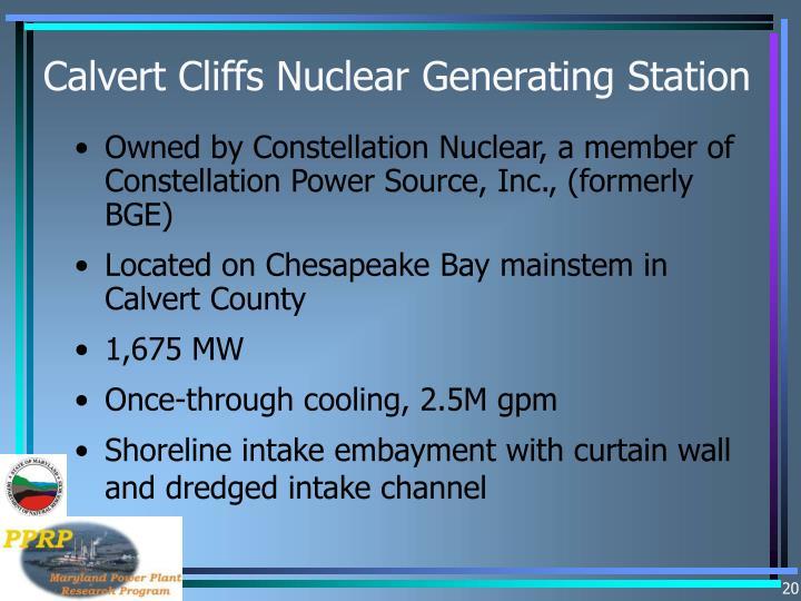 Calvert Cliffs Nuclear Generating Station