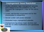 impingement issue resolution1