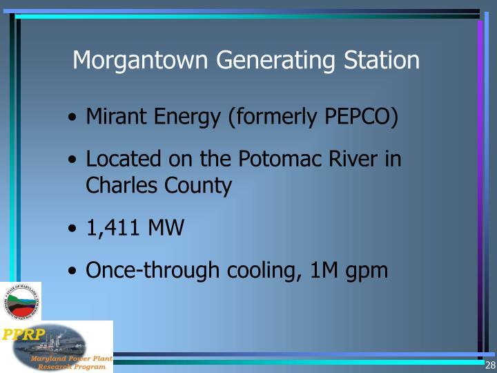 Morgantown Generating Station