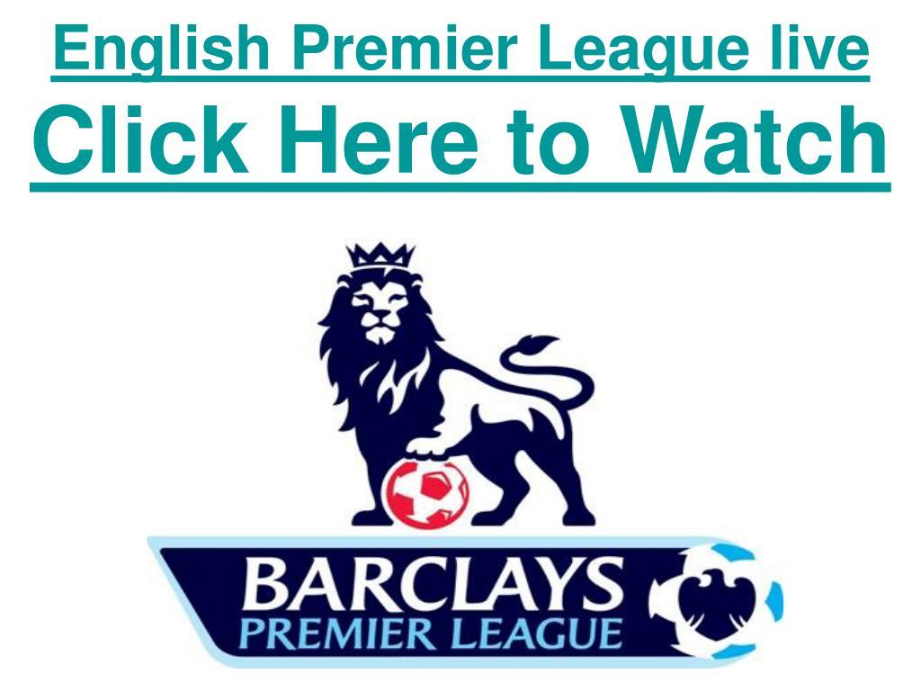 English Premier League live