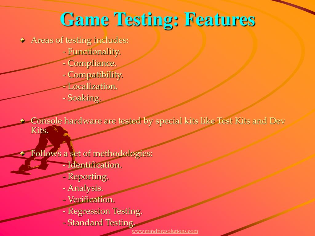 Game Testing: Features