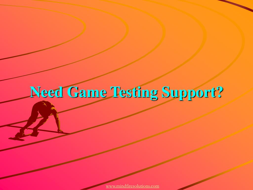 Need Game Testing Support?