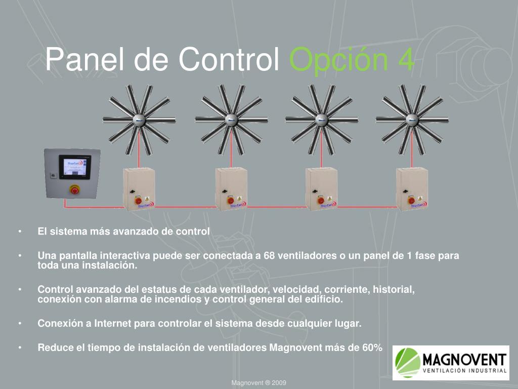 Panel de Control