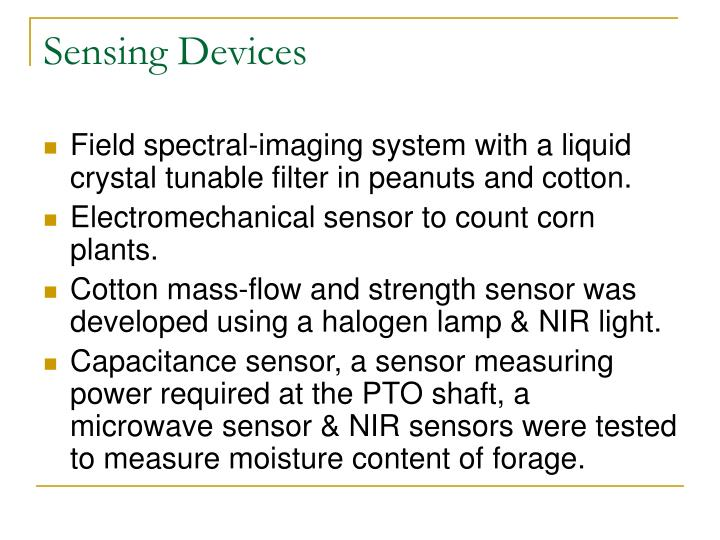 Sensing Devices