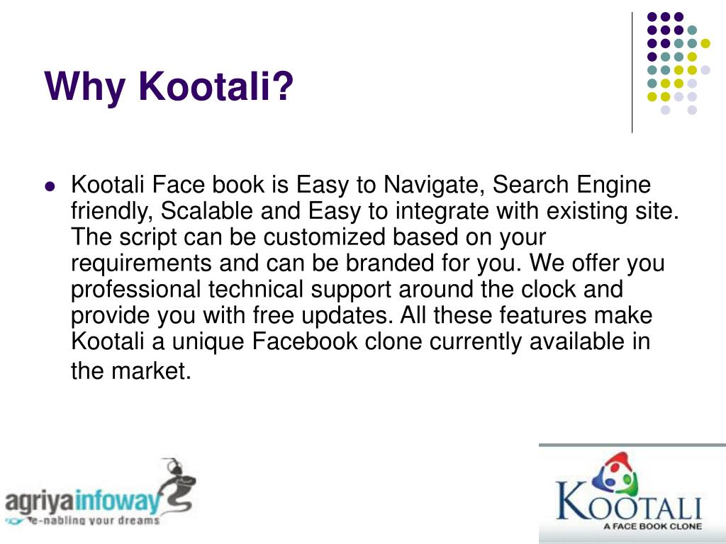 Why Kootali?