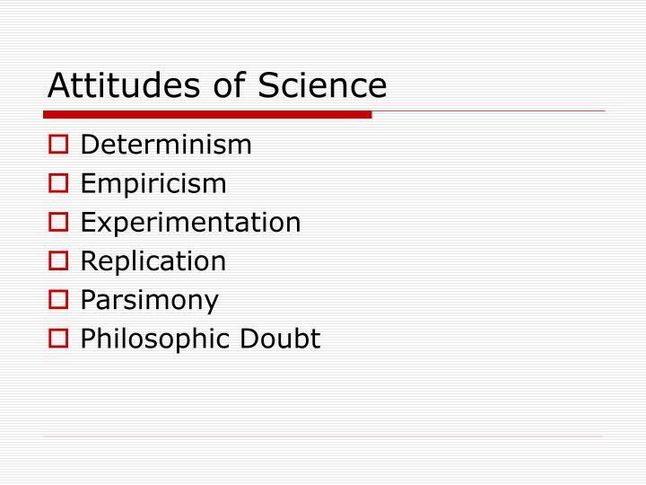 scientific determinism essay