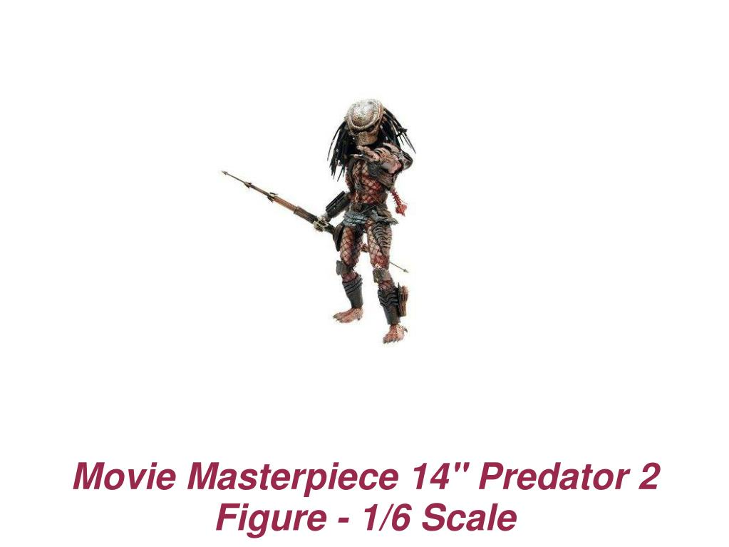 "Movie Masterpiece 14"" Predator 2 Figure - 1/6 Scale"