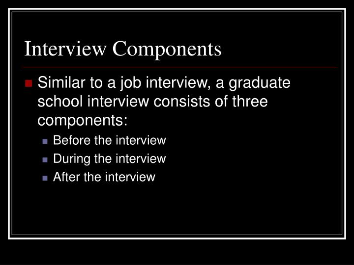Interview Components