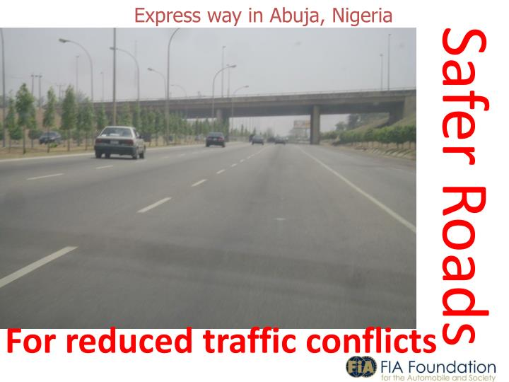 Express way in Abuja, Nigeria