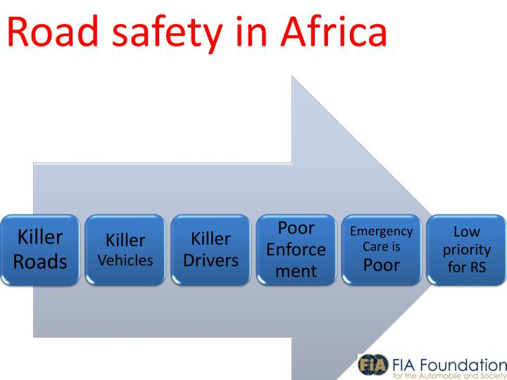Road safety in Africa