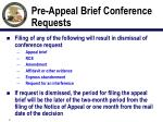 pre appeal brief conference requests1