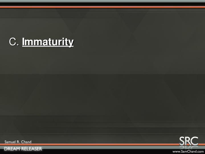 mmaturity