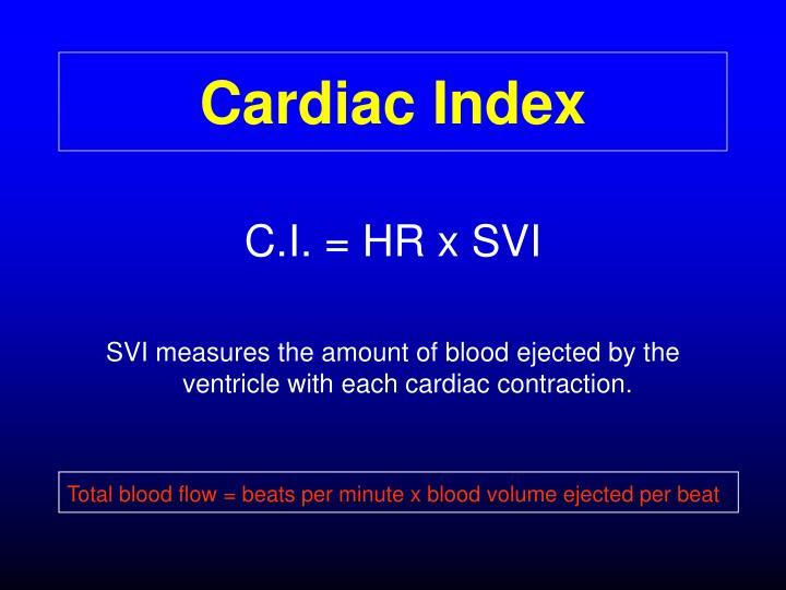 Cardiac Index