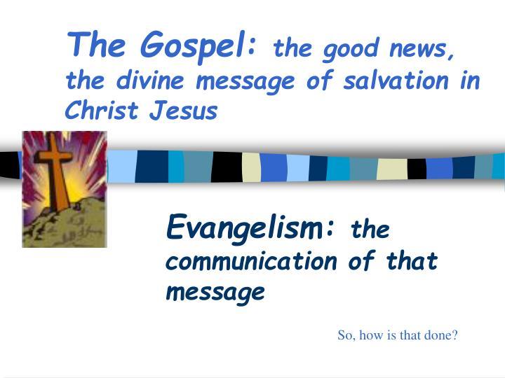 PPT - Relational Evangelism PowerPoint Presentation - ID ...