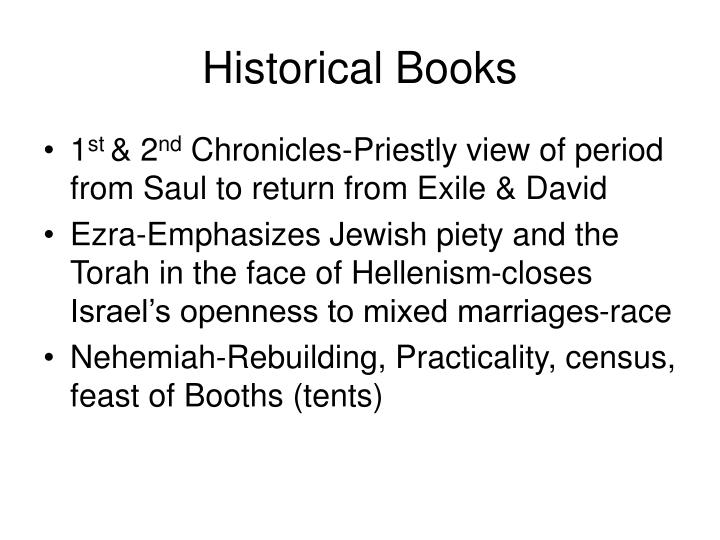Historical Books