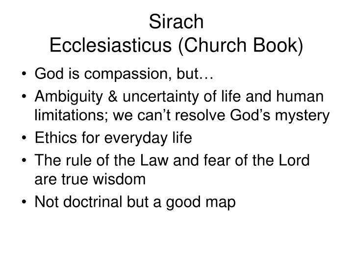 Sirach