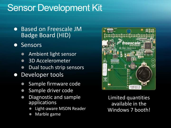 Sensor Development Kit