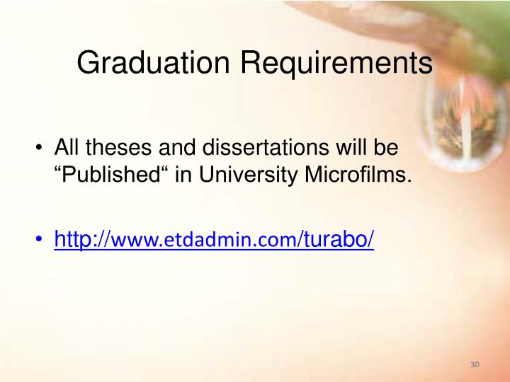 university microfilms dissertations This includes dissertations and theses of our graduating students how do i submit my completed dissertation to proquest/university microfilms international (umi.