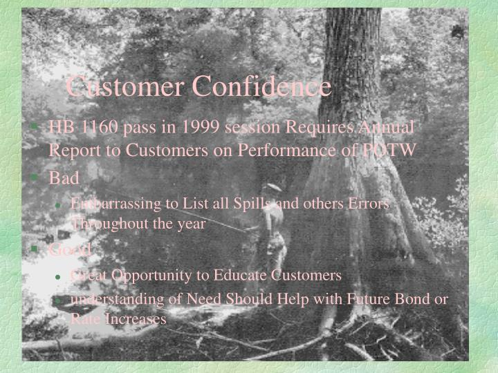 Customer Confidence