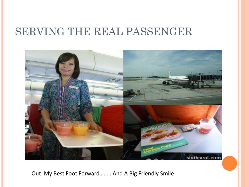 SERVING THE REAL PASSENGER