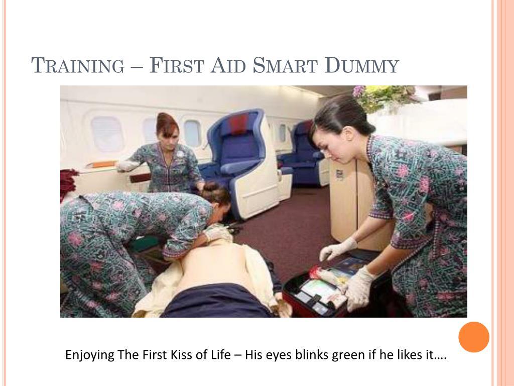 Training – First Aid Smart Dummy