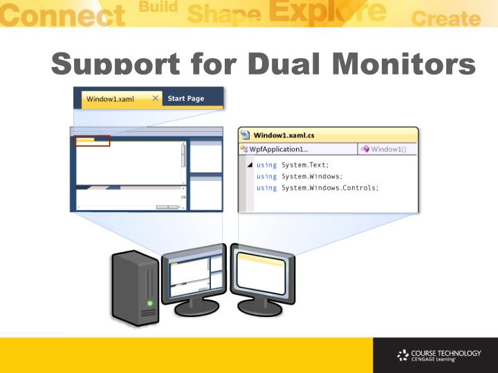 Support for Dual Monitors