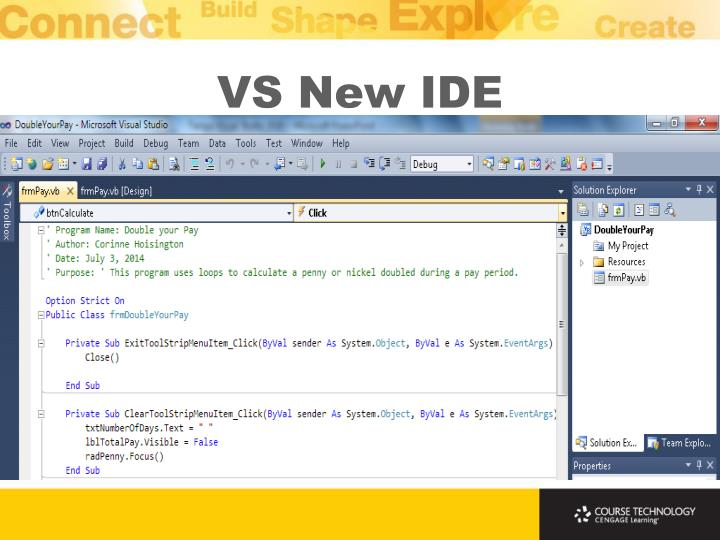 VS New IDE