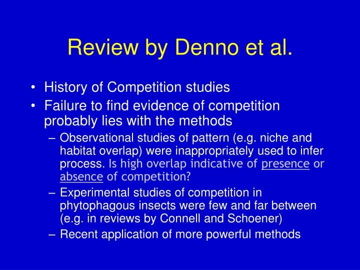 Review by Denno et al.