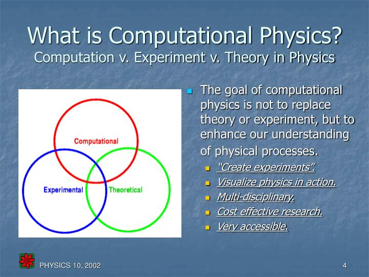 What is Computational Physics?