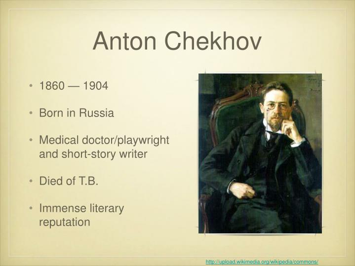 an analysis of the story the lady with the dog by anton chekhov During the last ten years of his life, anton chekhov penned his great plays, spent time treating the sick, and wrote a small number of stories that are consi.