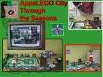 appalego city through the seasons