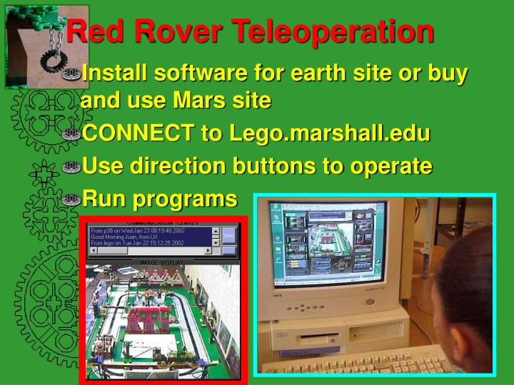 Red Rover Teleoperation