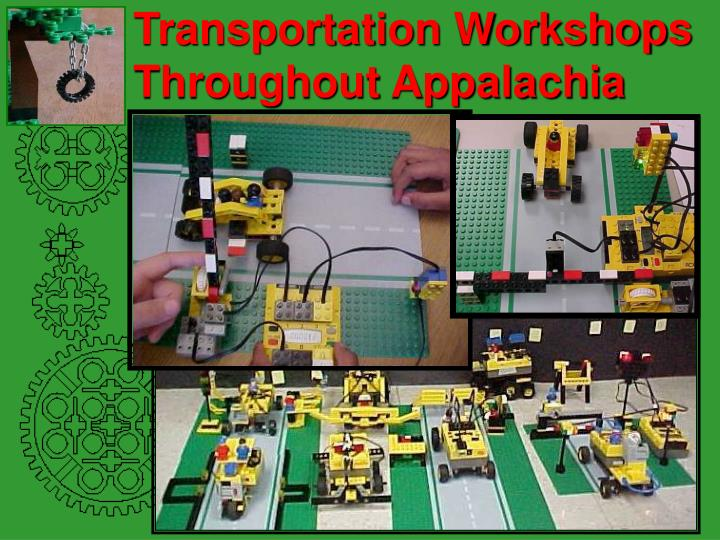 Transportation Workshops Throughout Appalachia