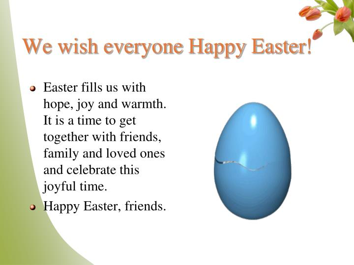 We wish everyone happy easter l.jpg