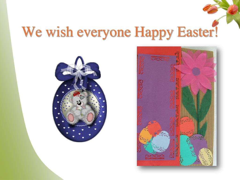 We wish everyone Happy Easter