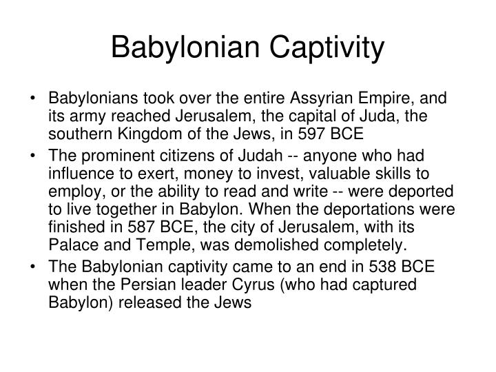 Babylonian Captivity