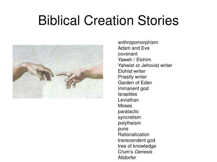 Biblical creation stories