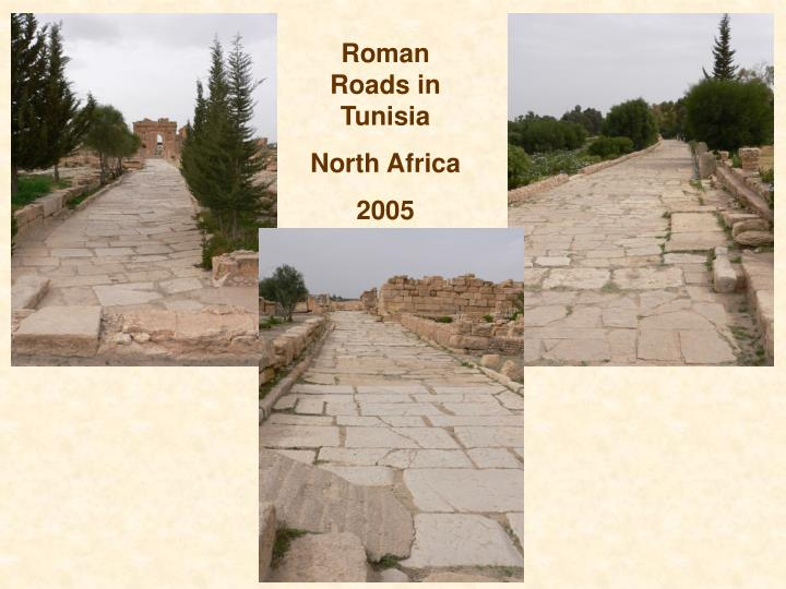 Roman Roads in Tunisia