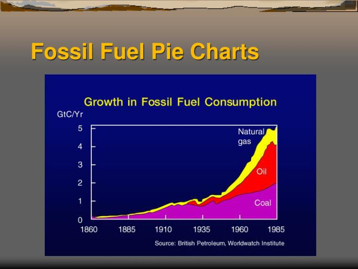 Fossil Fuel Pie Charts