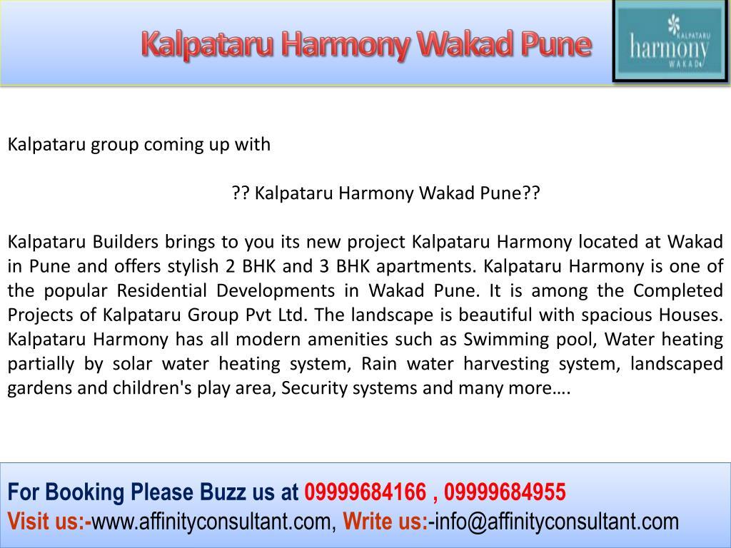 Kalpataru Harmony Wakad